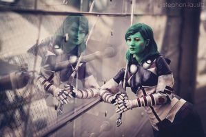 Guardians of the Galaxy : Gamora 4 by Amapolchen