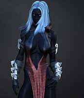Drow by Shawn-Morrill