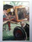 rusty tractor by Chumkin