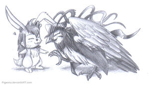 Friendship knows no Boundaries by Pigeona