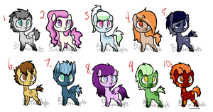MLP Point Adopts Auction -over- by BioToxicAdopts