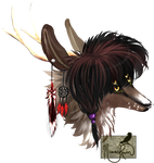 Commission: Snickers Headshot by MischievousRaven