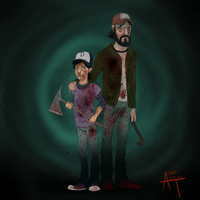 Clementine and Kenny by abbi-ologist