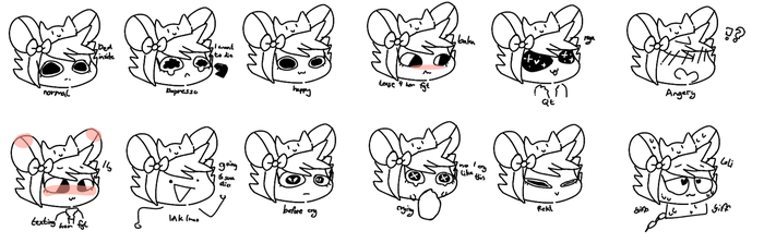 Faces Lmao by TsudereSploonie