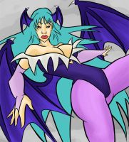Morrigan by WatchTehTail