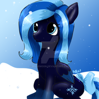 Little Icey Night by FloofyTsuki