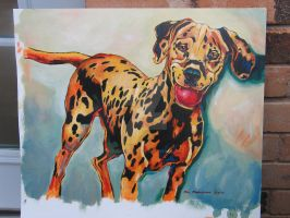 commissioned dalmatian by ForNowWeToast