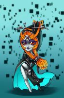 Chibi Midna by sketchtastrophe