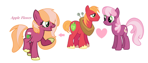 Cheerilemac next generation Apple Flower by cutegir101
