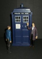 The 11th Doctor meets Spock by CyberDrone