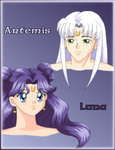BSSM: Luna and Artemis by Nyxity