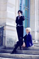 Alois - Claude ' Let's play master and servant ' by AlyHajime