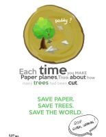 Save Trees by blueisocean