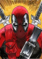 DEADPOOL by SPEARS by markman777