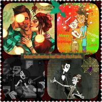 Zoke Holiday Collage by floresfire