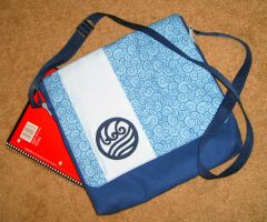 Water Tribe Messenger Bag by daPatches