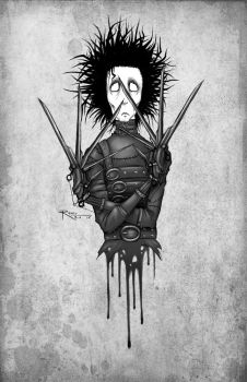 Edward Scissorhands by Raven-B-A