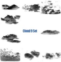 Cloud 9 Brush set by Epic-phish