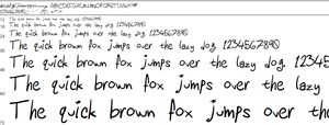 handwriting font by diyhomicide