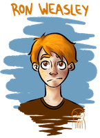 Ron Weasley. by Bahelen