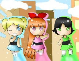 PPG: We are the Hero of Townsville! by NanakoBlaze