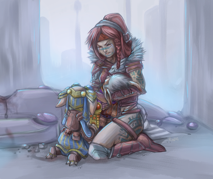 Snaff's Demise by RinTheYordle