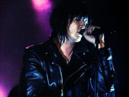 Jyrki lead singer of The69eyes by CrayolaScribbles