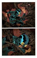 Blue: Insect Fighter misc. page colors by stevenrussellblack