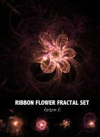 Ribbon Flower Fractal Set by LaviniaChu
