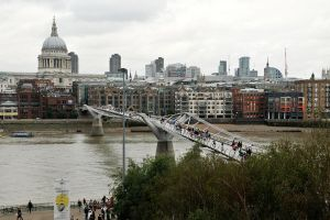 Crossing the Thames 1 by wildplaces