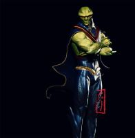 J'onn J'onzz of Mars Martian Manhunter by SamKablamm