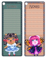 Notes - bookmarks by millykins
