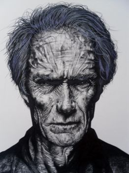 Clint Eastwood by wayne777