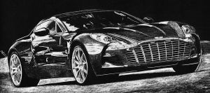 Aston Martin One-77 by generalbrievous