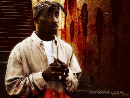 Tupac Wallpaper by Incirci