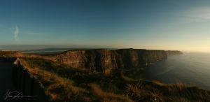 Cliffs of Moher Panorama by xAnacondax