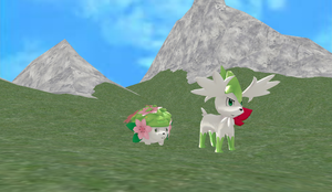 Shaymin Sky and Land DL by Valforwing
