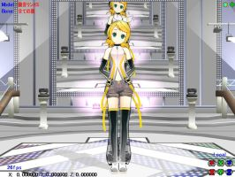 MMD Rin Append by miyukilee123