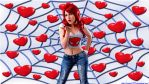 Mary Jane cosplay wp 2 with Negative Stacey by SWFan1977