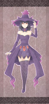 Pokemon Mismagius by sakumane