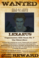 Wanted: Lexaeus by gttorres