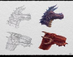 Dragon`s Design by Azot2014