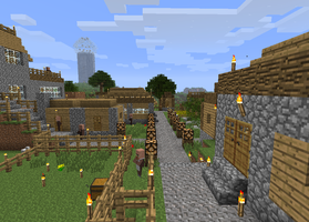 My Minecraft Village 3 by DPrime123