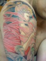 Moon Revenge - Usagi tattoo 2 by isma-angel