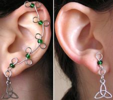 Ear Vines - Green Celtic by lavadragon