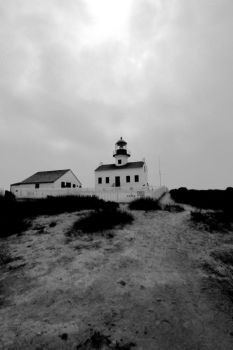 Point Loma Lighthouse V by LDFranklin