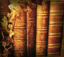 Olde Books by Forestina-Fotos