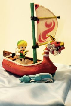 Wind Waker boat  by vrlovecats