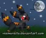 Umbreon Midnight by Veemonsito