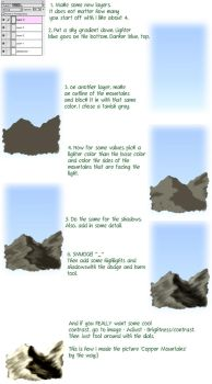 Mountain Tutorial by bberry06